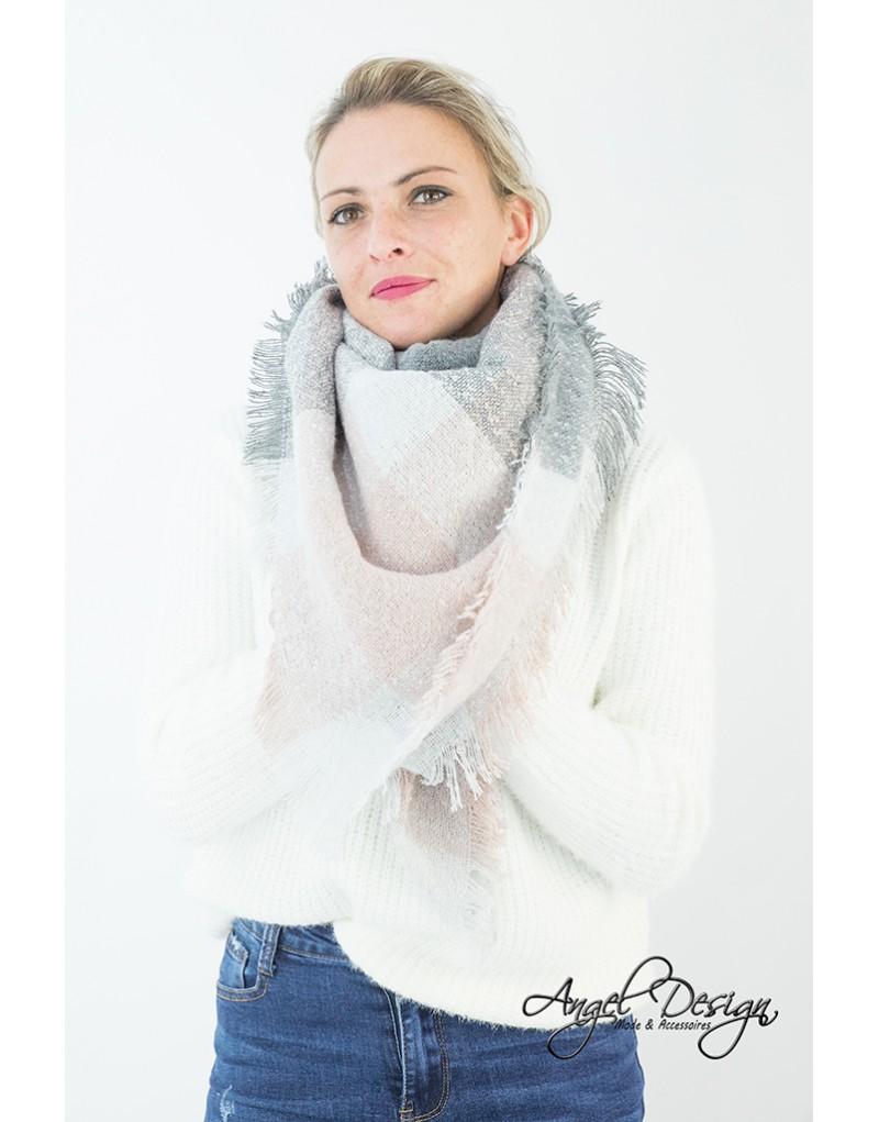 0ffbb6706 L écharpe Elisa grise à partir de 12.90€ sur la boutique Angel Design®