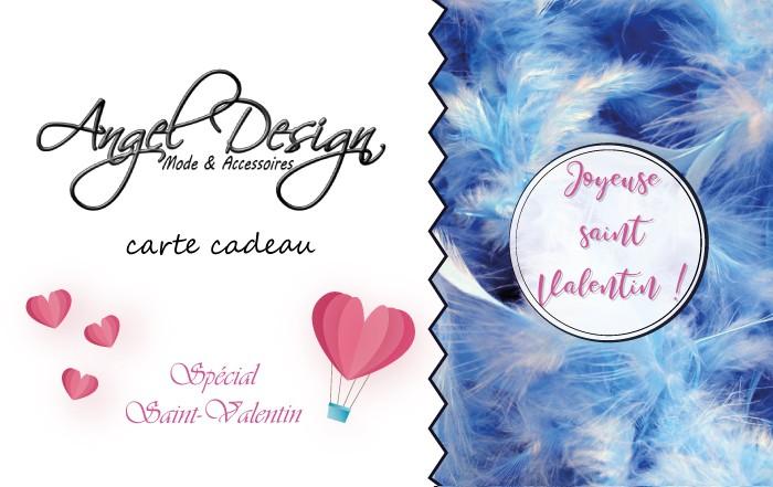 Carte Cadeau Angel Design spécial Saint-Valentin