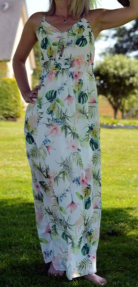 Angel Design robe longue collection printemps ete 2019-2020